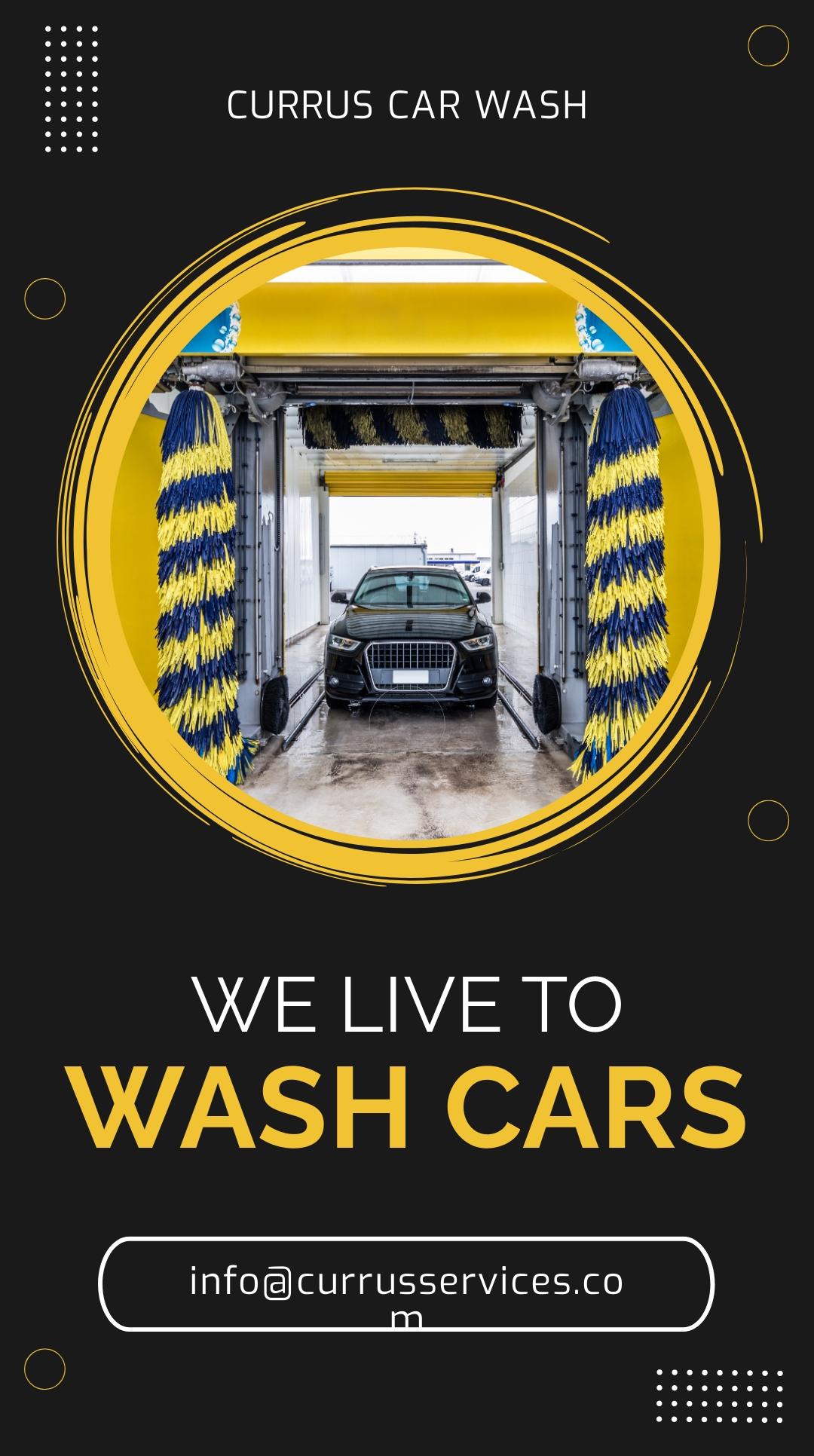 Free Car Wash Whatsapp Post Template.jpe