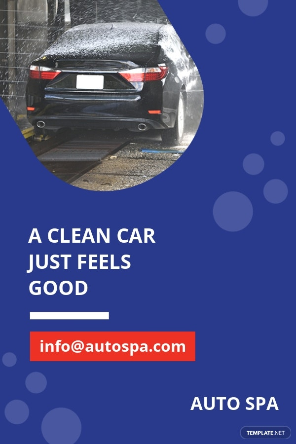 Free Car Wash Pinterest Pin Template