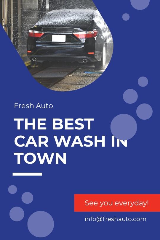 Free Car Wash Tumblr Post Template