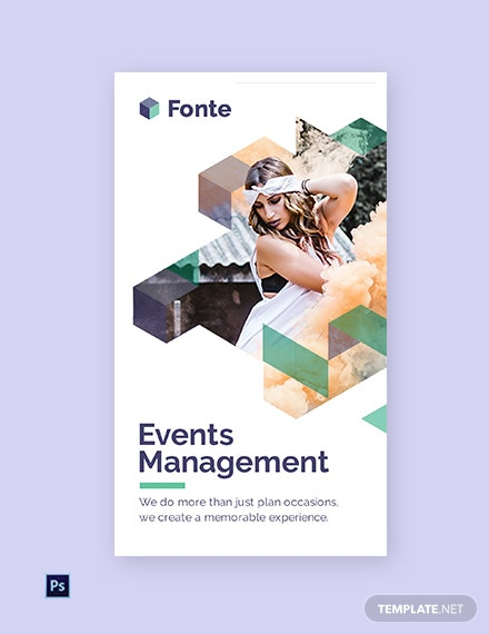 Free Event Management Instagram Story Template