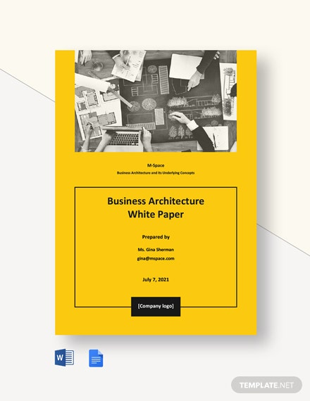 Business Architecture White Paper