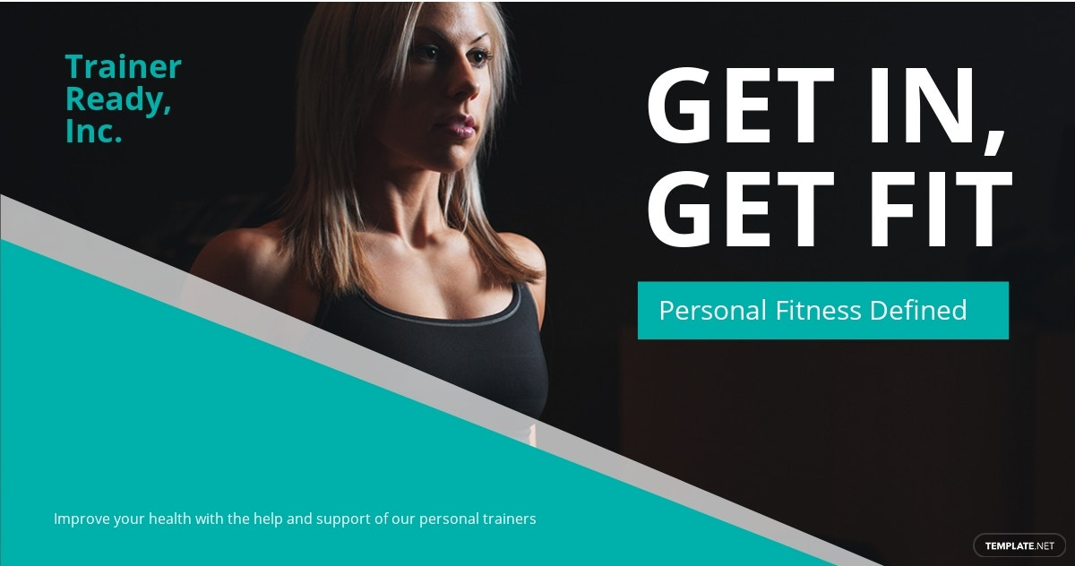 Free Personal Trainer Linkedin Post Template