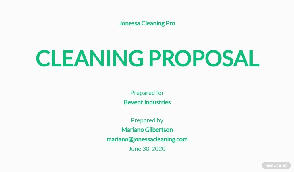 Sample Cleaning Proposal Template.jpe