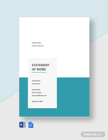 Advertising Agency Statement of Work Template