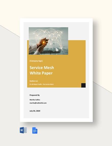 Service Mesh White Paper Template