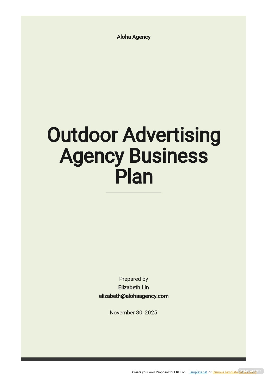 Outdoor Advertising Agency Business Plan Template.jpe