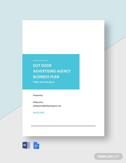 Outdoor Advertising Agency Business Plan Template