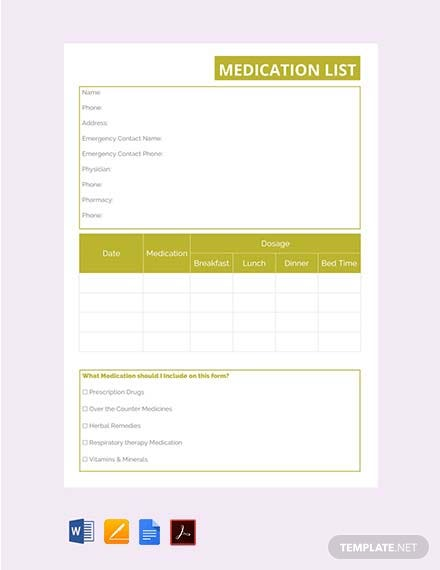 free product price list template download 23 lists in word excel