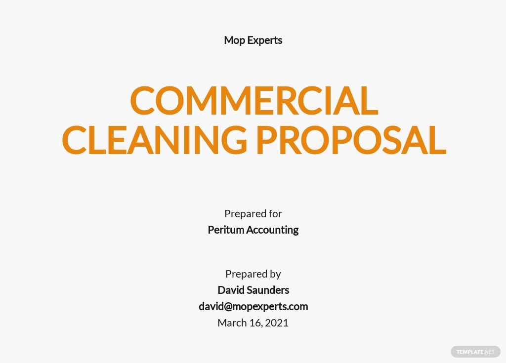 Cleaning Work Proposal Template.jpe