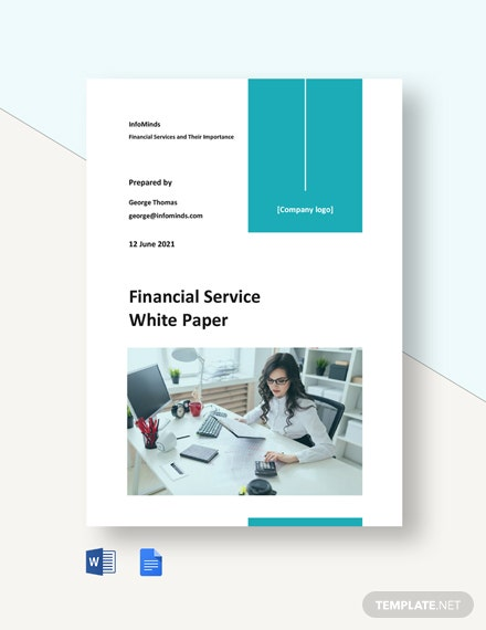 Financial Service White Paper Template