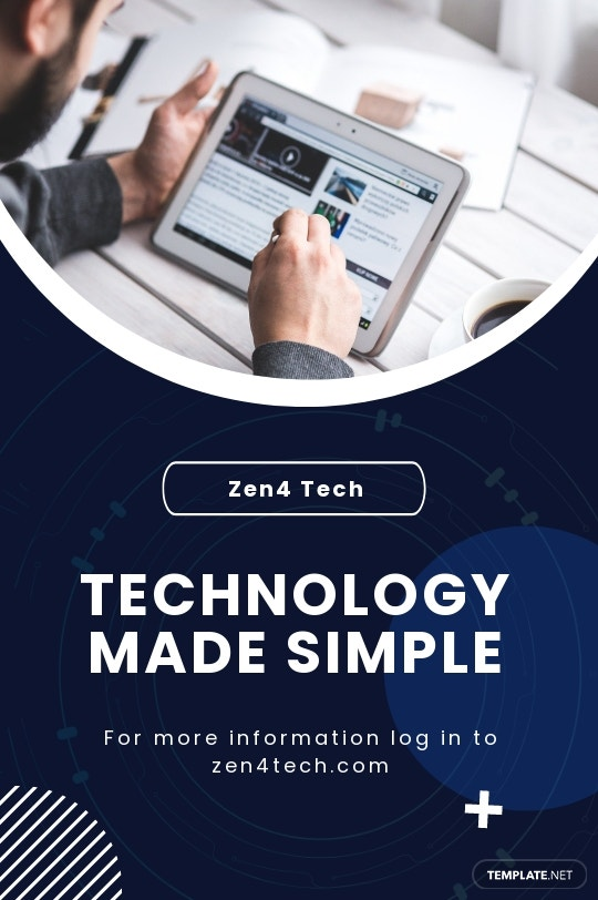 Free Tech Startup Tumblr Post Template