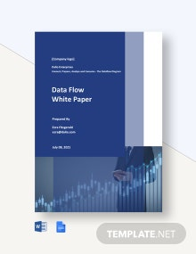 Data Flow White Paper Template