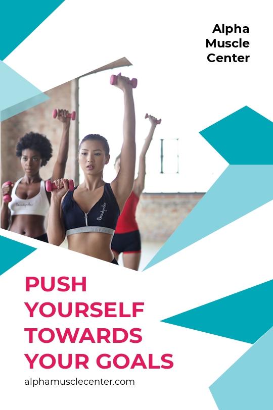 Fitness Studio Tumblr Post Template