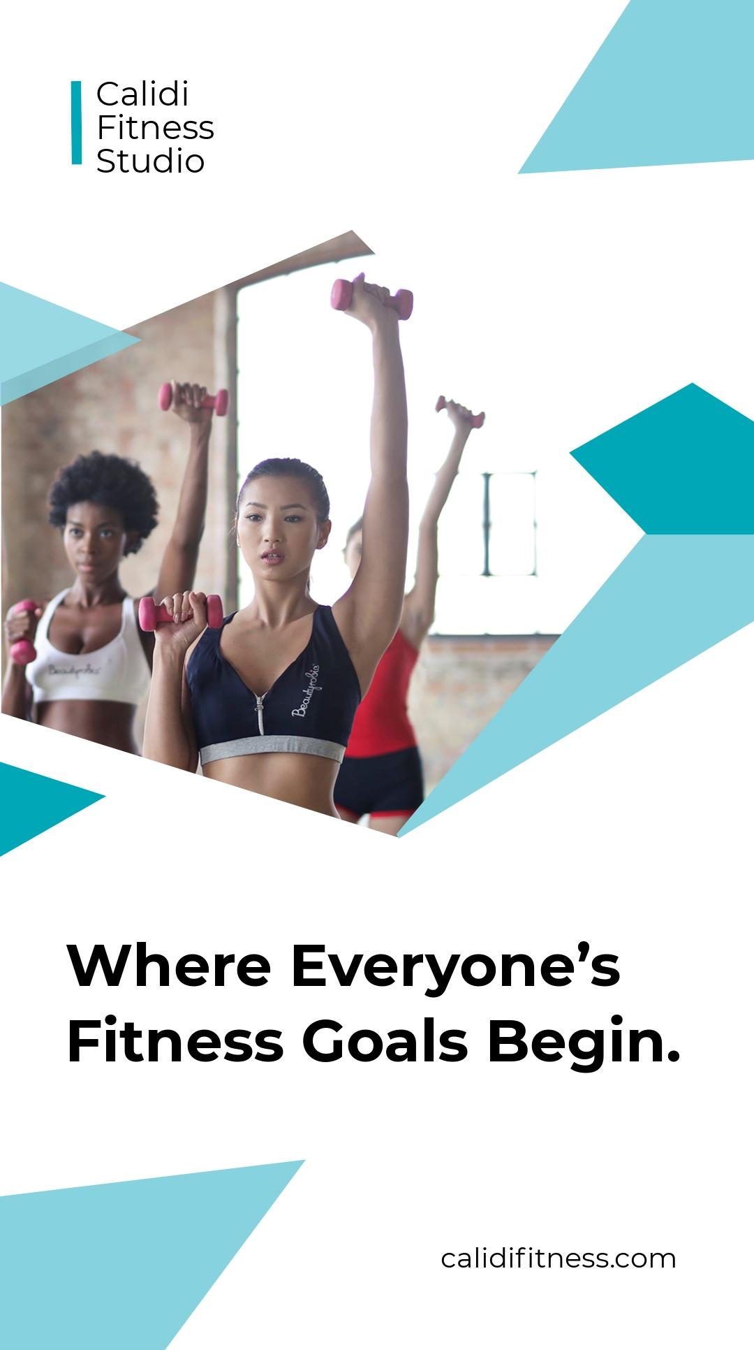 Fitness Studio Whatsapp Post Template