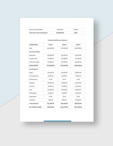 Simple Digital Advertising Agency Business Plan
