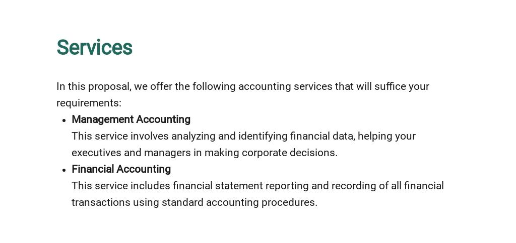 Free Sample Accounting Proposal Template 2.jpe