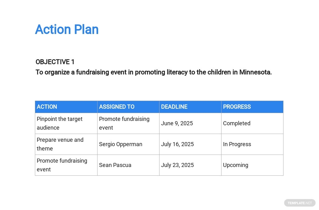 Non Profit Project Proposal Template [Free PDF] - Google Docs, Word, Apple Pages