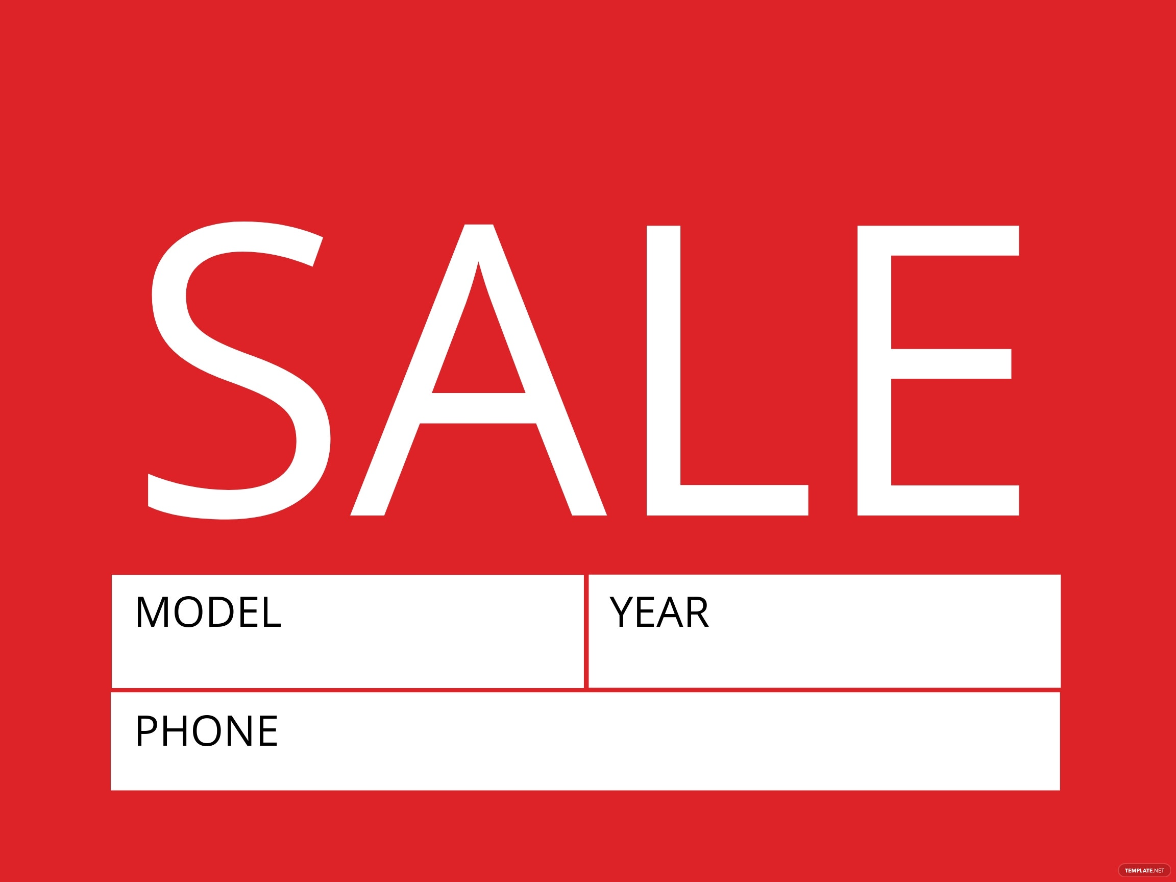 Free Sale Sign Template.jpe