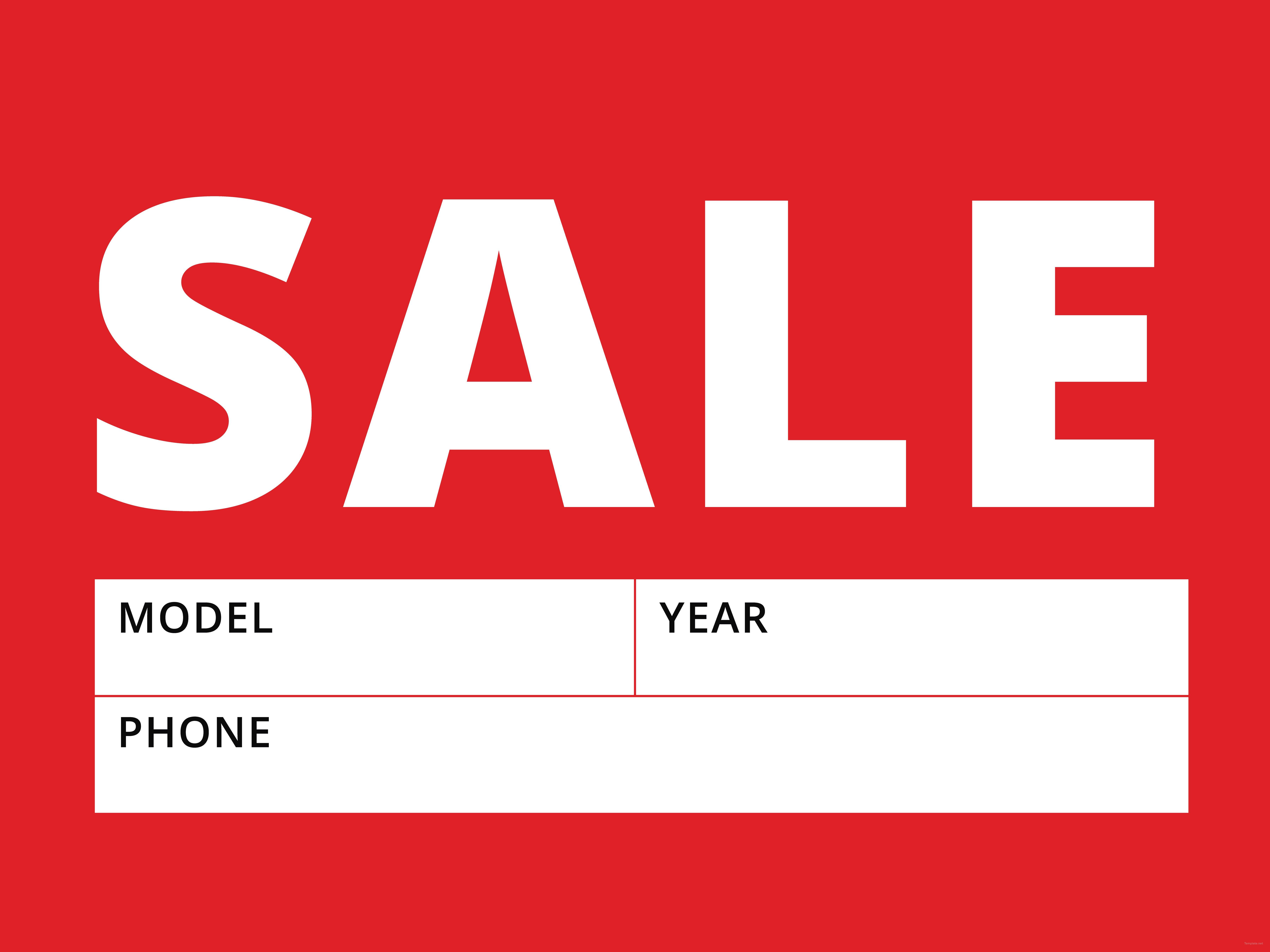 free sale sign template in adobe photoshop illustrator indesign. Black Bedroom Furniture Sets. Home Design Ideas