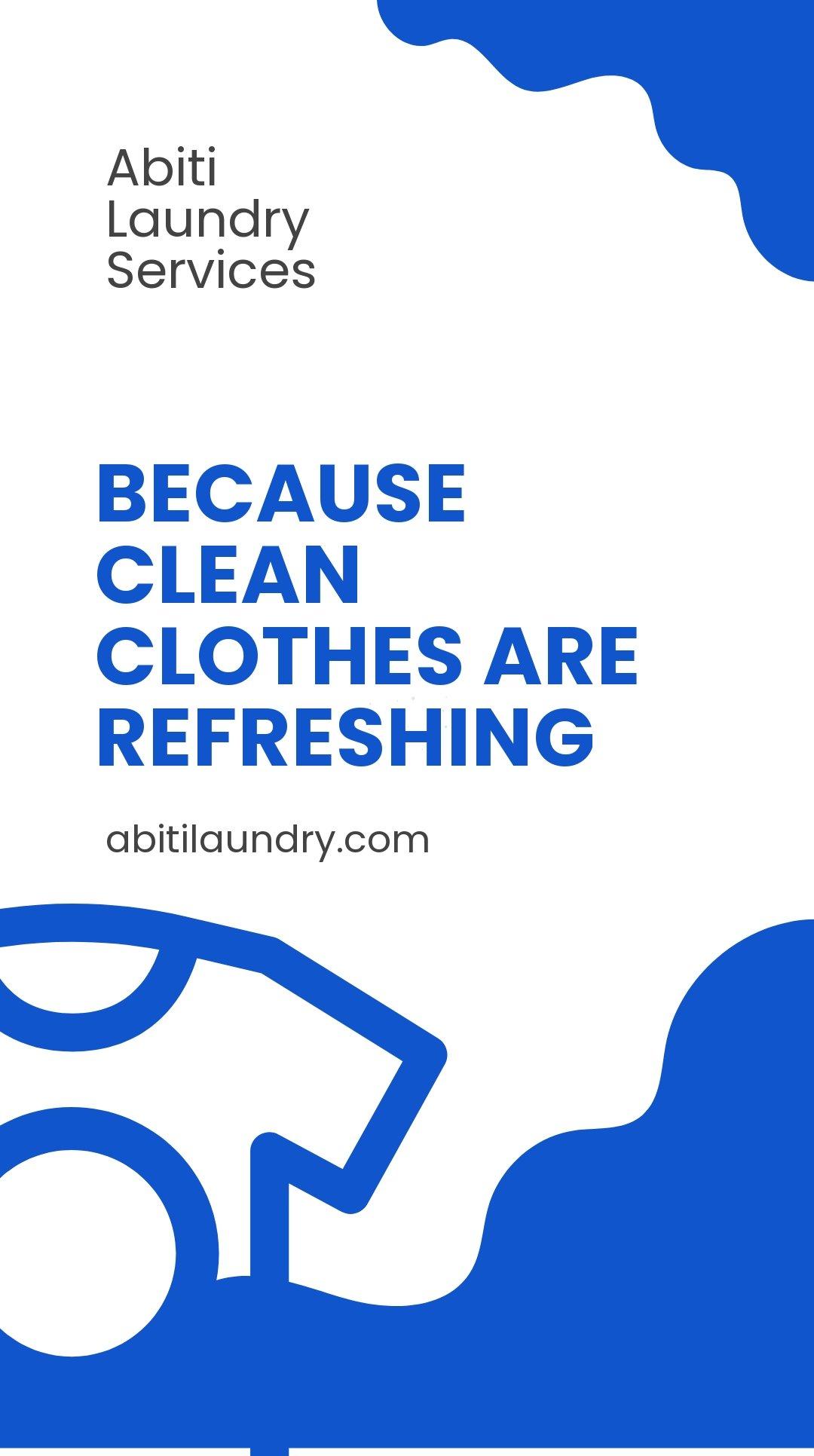 Free Laundry Whatsapp Post Template.jpe