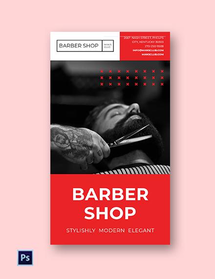 Barbershop Instagram Story Template