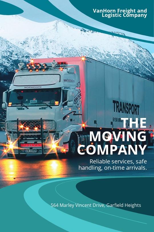 Trucking & Logistics Tumblr Post Template