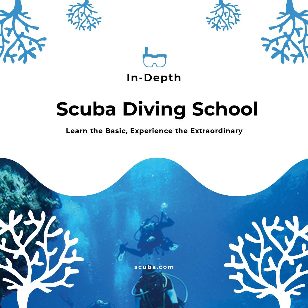 Scuba Diving School Instagram Post Template.jpe