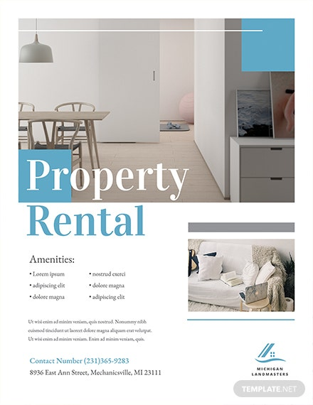 Free Property Flyer Template