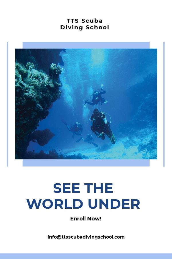 Free Scuba Diving School Pinterest Pin Template.jpe