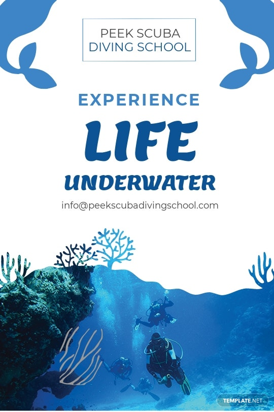 Free Scuba Diving School Tumblr Post Template.jpe