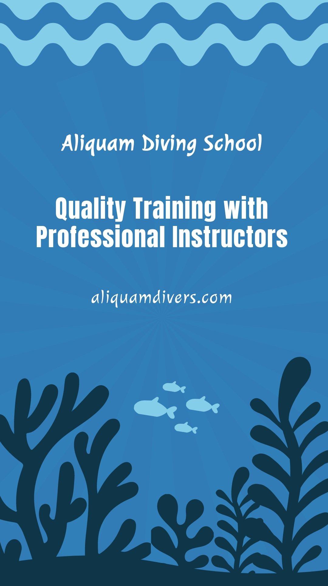 Free Scuba Diving School Whatsapp Post Template.jpe