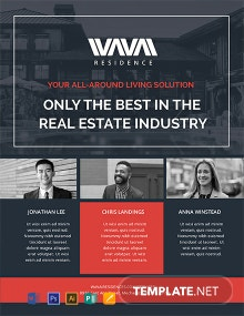 Free Real Estate Agent Flyer Template
