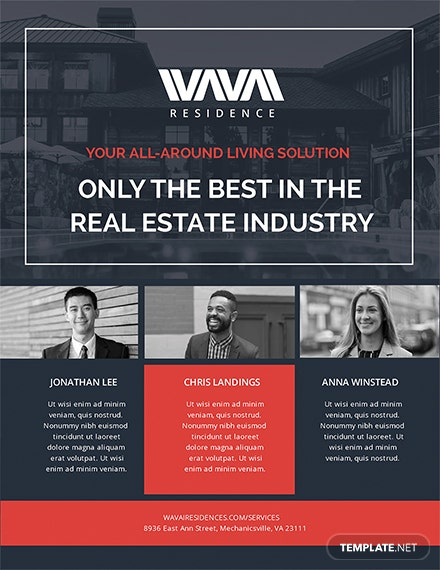 free real estate agent flyer template download 416 flyers in psd
