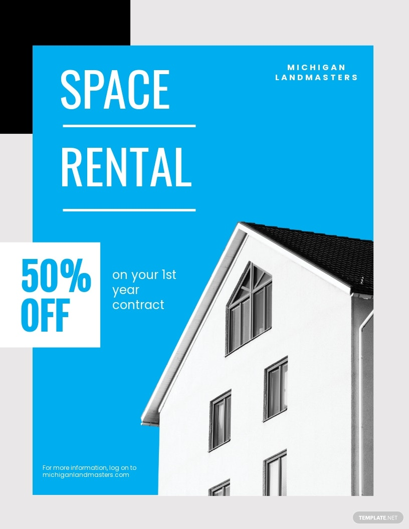 Free Rental Flyer Template