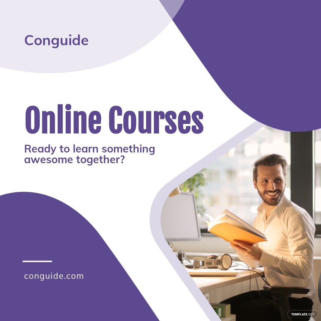 Online Courses Instagram Post Template.jpe
