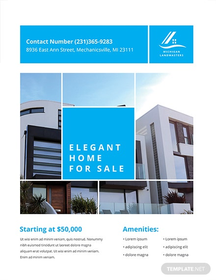 free simple real estate flyer template download 416 flyers in psd