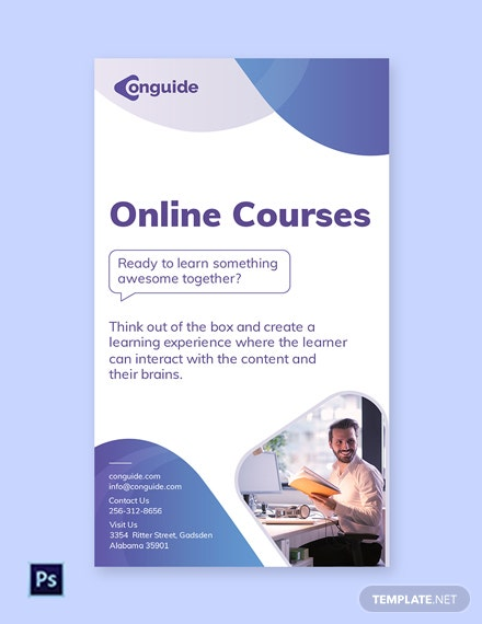 Free Online Courses Whatsapp Template