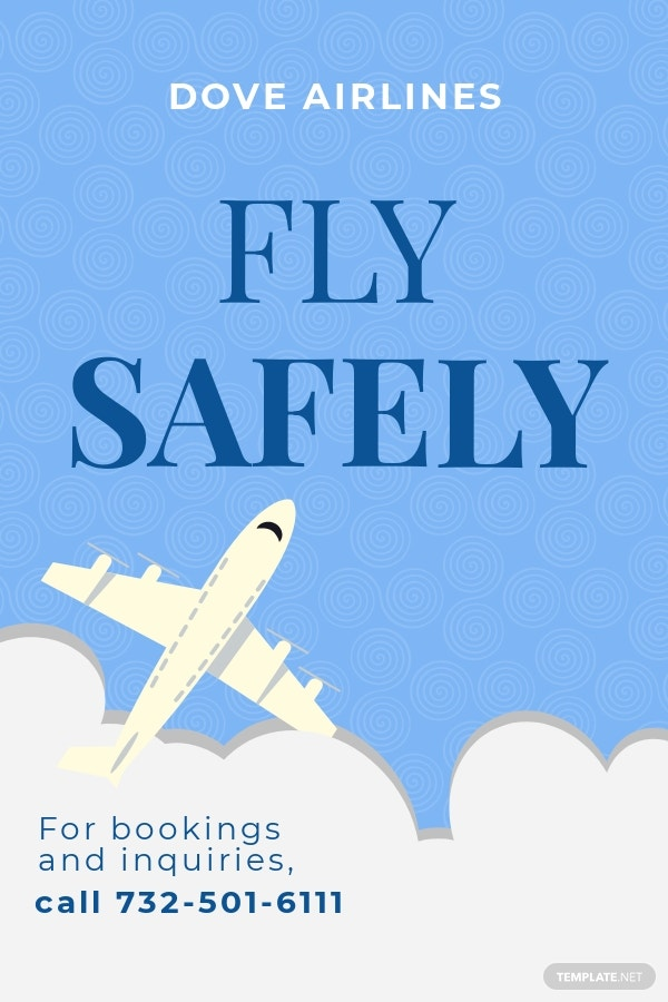 Free Airlines Aviation Services Pinterest Pin Template.jpe