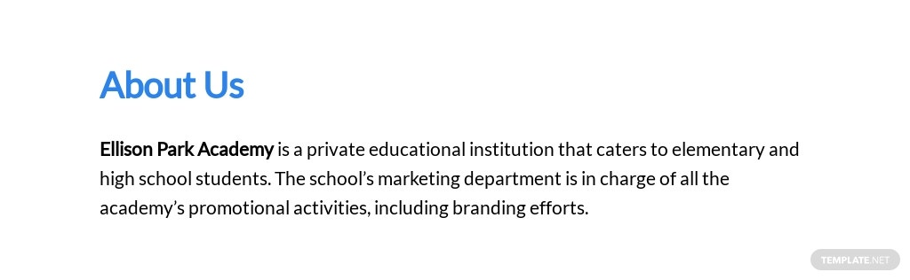 New School Branding Proposal Template [Free PDF] - Google Docs, Word, Apple Pages