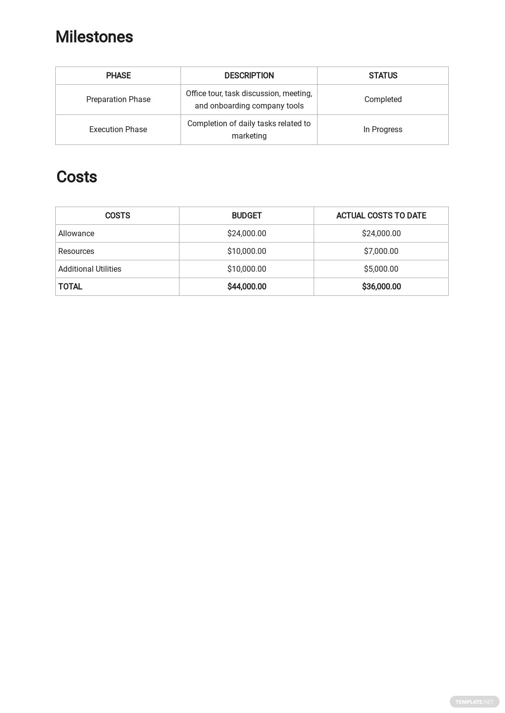 Advertising Agency Internship Report Template 2.jpe