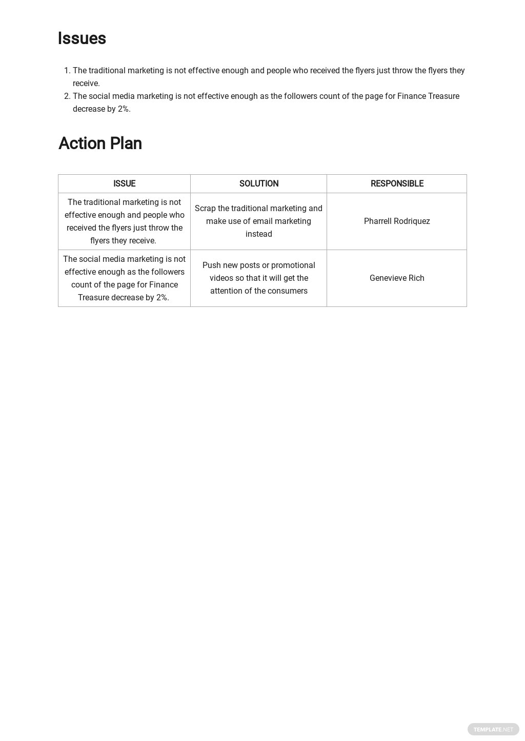 Advertising Agency Monthly Report Template 2.jpe