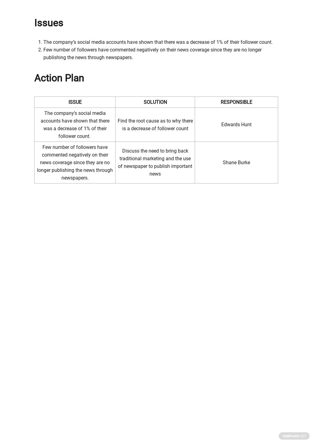 Free Sample Advertising Agency Report Template 2.jpe