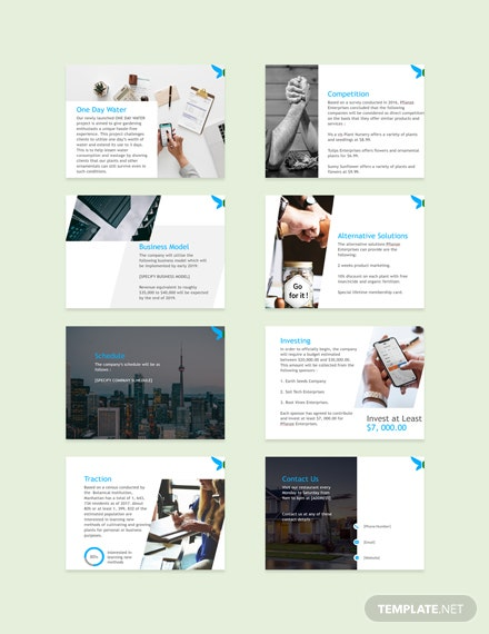 Franchise Pitch Deck Template