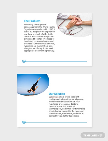 Health Pitch Deck Template