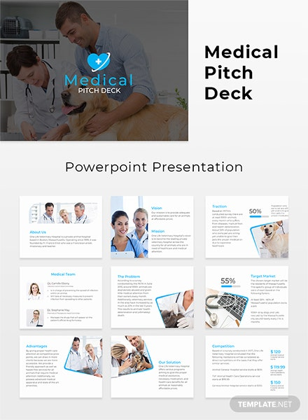 Medical Pitch Deck Template