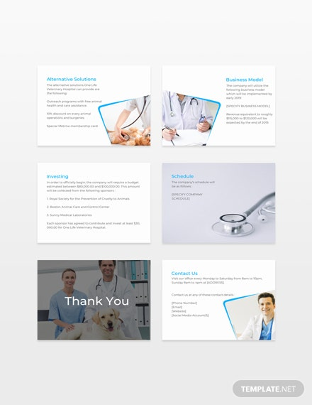 Medical Pitch Deck Template [Free Keynotes] - Apple Keynote, PowerPoint