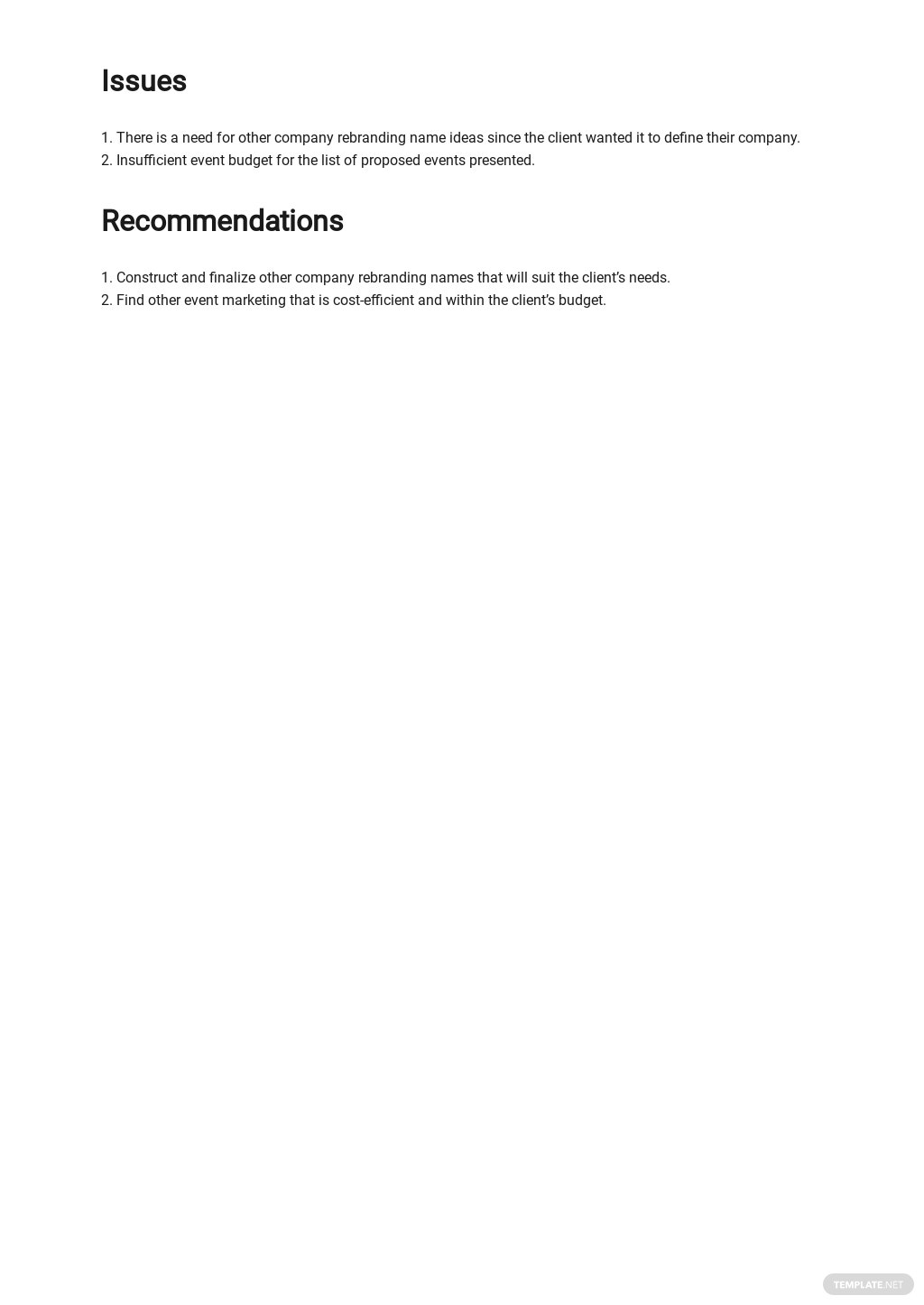 Advertising Agency Contact Report Template 2.jpe