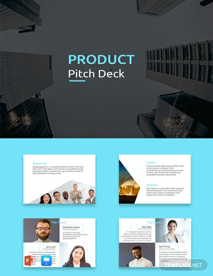 FREE Product Pitch Deck Template: Download 145+ Presentations in