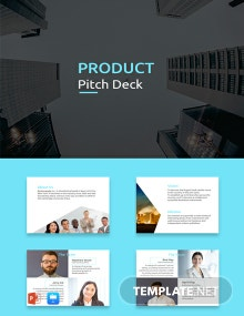 Free Product Pitch Deck Template