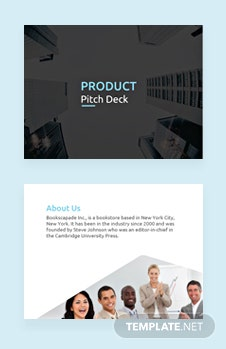 Product Pitch Deck Template
